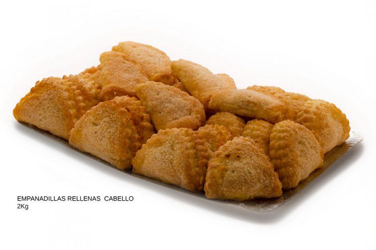 Empanadillas rellenas de cabello de Ángel dulces caseros Cuenca Málaga