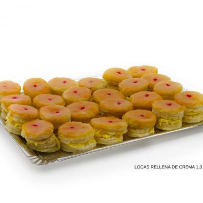 Tortas Locas rellenas de crema dulces caseros Cuenca Málaga