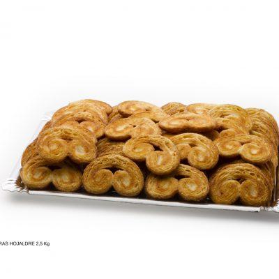 Palmeras de hojaldre dulces caseros Cuenca Málaga