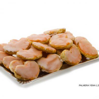 Palmeras de yema dulces caseros Cuenca Málaga