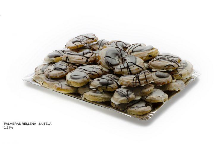 Palmeras rellenas Nutella dulces caseros Cuenca Málaga