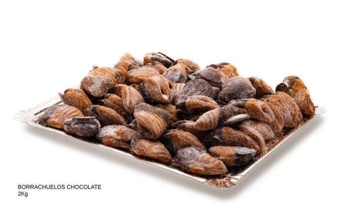 borrachuelos de chocolate dulces caseros Cuenca Málaga