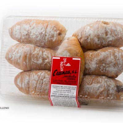 croissant relleno chocolate blister dulces caseros Cuenca Málaga