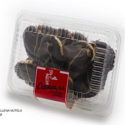 palmera rellena nutela blister dulces caseros Cuenca Málaga