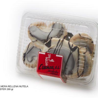 palmera rellena nutela glass blister dulces caseros Cuenca Málaga